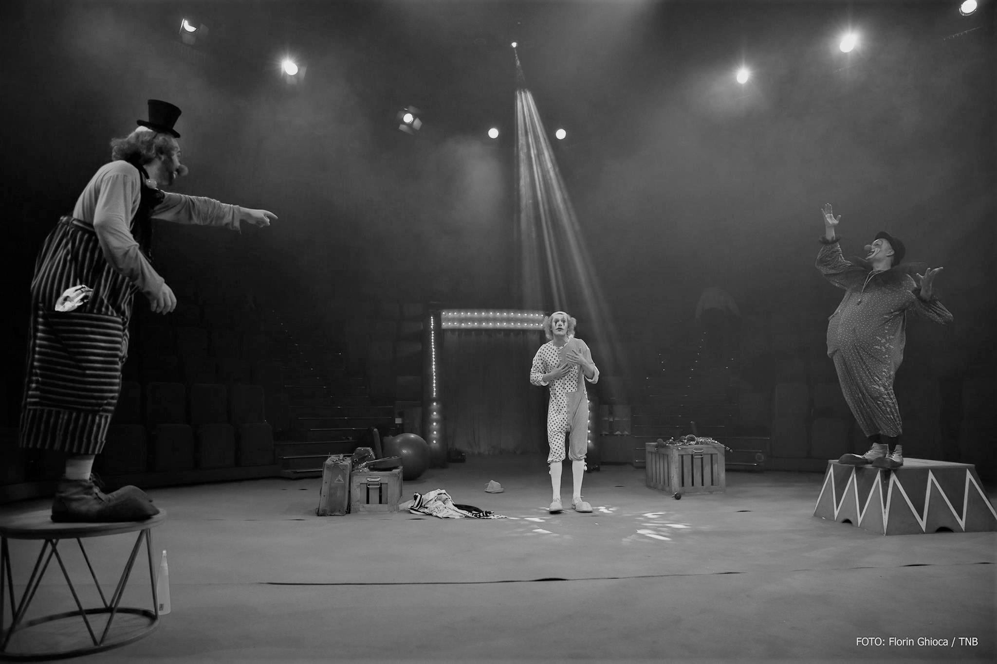 Angajare de clovn – Teatrul Național București