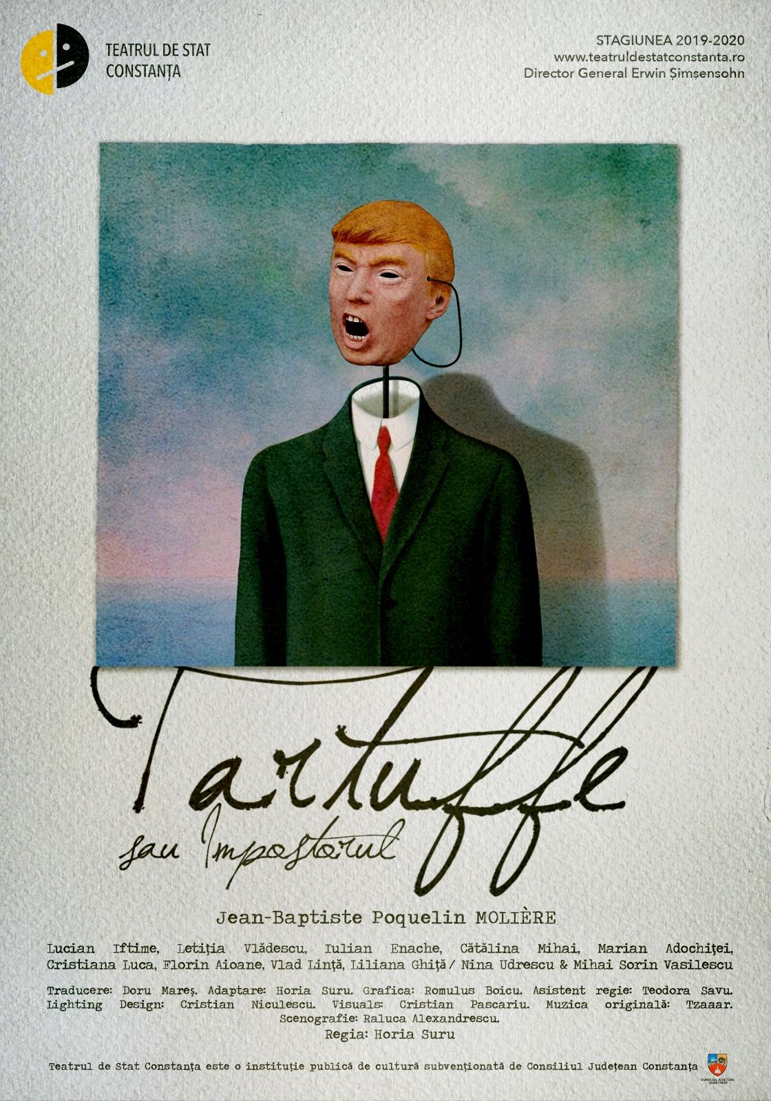 Premieră la Teatrul de Stat Constanța ♦ Tarfuffe sau Impostorul ♦ regia Horia Suru